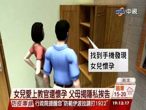 【中視新聞】女兒愛上教官還懷孕 父母揭隱私挨告 20141225 - YouTube
