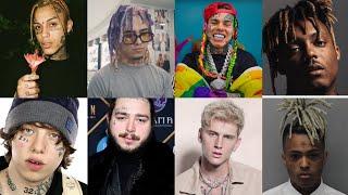 ARTISTS WHO LISTEN LIL PEEP 🔥