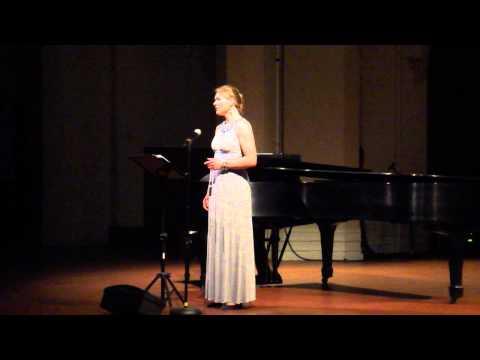 Chansons d'automne by Reynaldo Hahn (Joëlle Morris, Mezzo-Soprano)