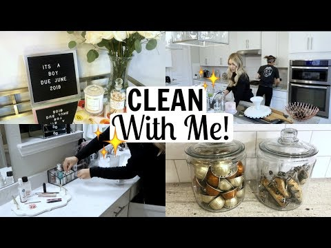 CLEAN THE HOUSE  WITH ME 2019 | Extreme Cleaning Motivation | Tara Henderson