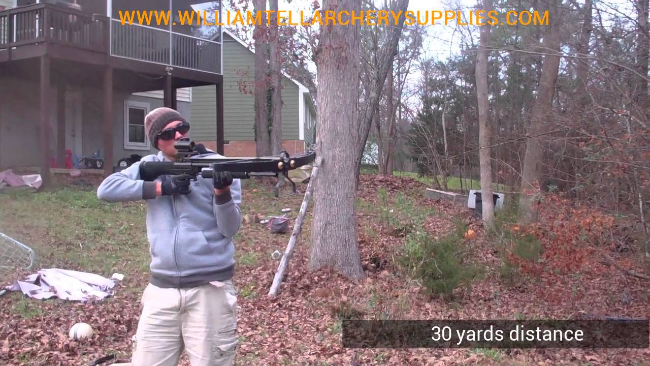 XtremepowerUS Multifunctional Crossbow 80 lbs 160 fps Hunting Equipment 200 Maga