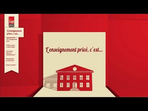 L'enseignement Privé en vidéo – CGT Enseignement privé