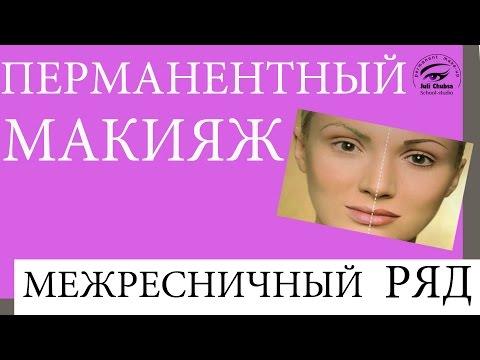 Мастер класс ПМ межресничный ряд. Перманентный макияж межресничного ряда.