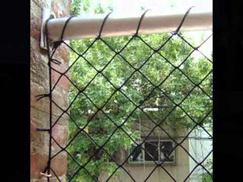 Jardin londrina rede de prote o e tela de prote o janela for Tela geotextil para jardines