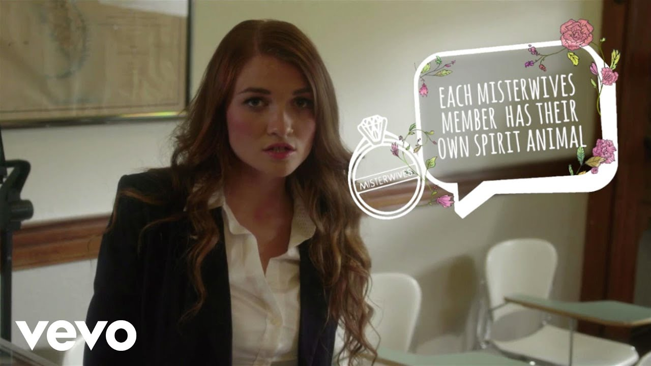 MisterWives - Reflections (Fun Fact Bubbles Version) (Vevo LIFT)