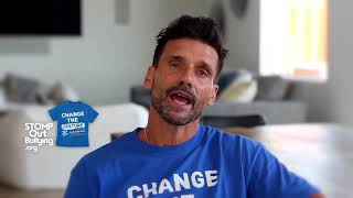 Frank Grillo BLUE SHIRT DAY® WORLD DAY OF BULLYING PREVENTION™ 2017