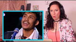 reaction of  Arthur Gunn Puts an INCREDIBLE Spin - American Idol 2020 | Nepali Boyz |