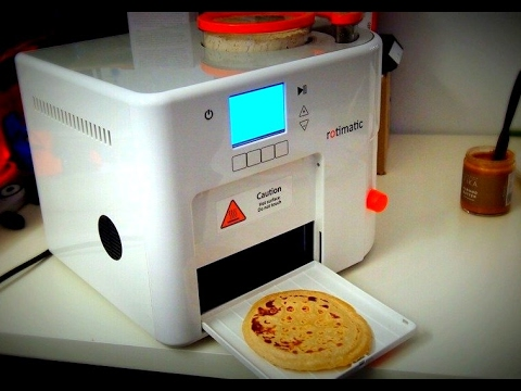 Rotimatic | Demo | Live Review | Roti Making Home Machine | Fully Automatic Roti Maker machine