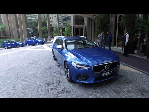 2017 Volvo V90 T6 R-Design (320hp and 400nm) Full In Depth Review In Malaysia | Bobby Ang
