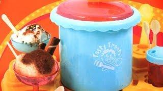 Ice Cream Maker Tasty Treats Real Ice Cream (Fail)