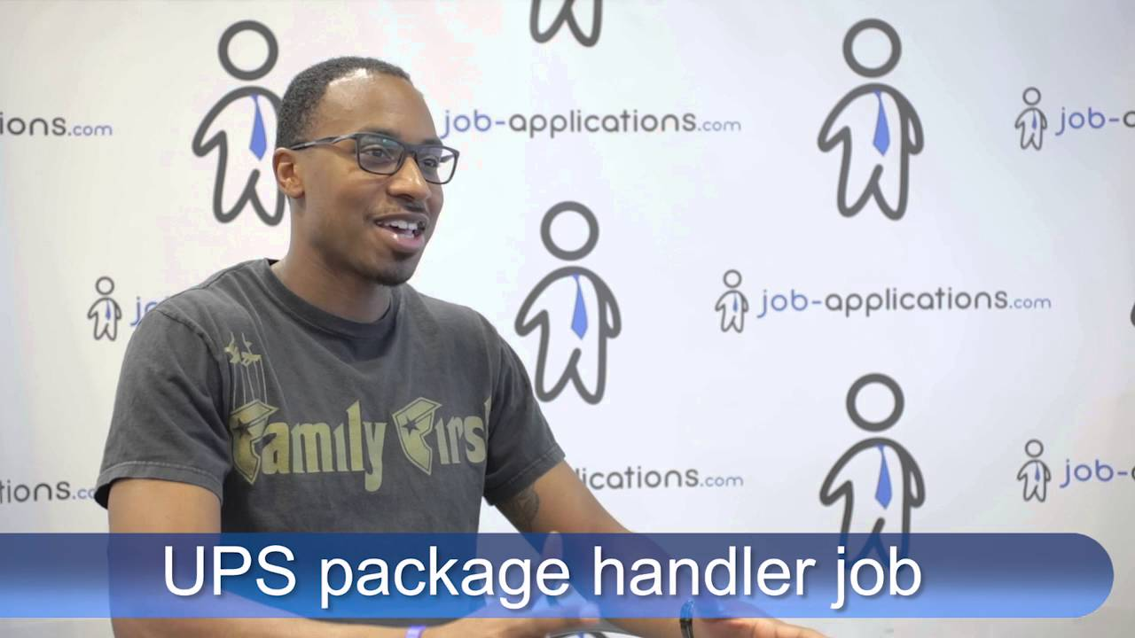 ups interview package handler youtube