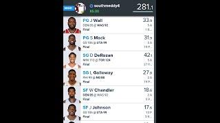 WIN AGIAN! NBA: Fanduel Picks 12/9