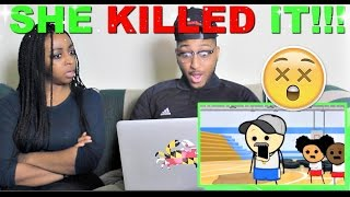 """Gym Class"" Cyanide & Happiness Short Reaction!!"