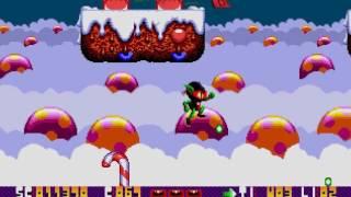 Zool Gameplay Ultra HD Sega Genesis Mega Drive LongPlay