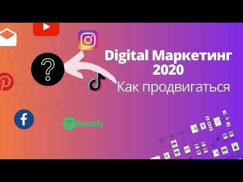 Диджитал маркетинг 2020. Тренды и стратегии как продвигаться