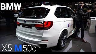 2018 BMW X5 M50d Exterior/Interior Walkaround (IAA 2017)