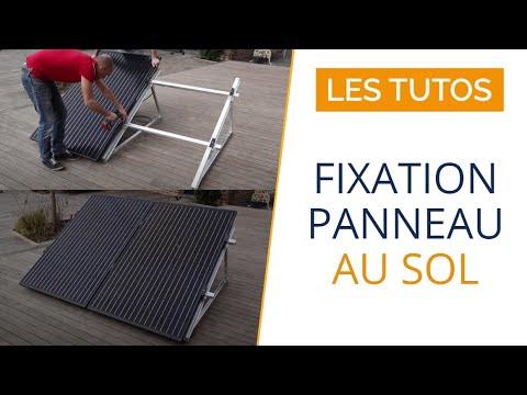 KIT PANNEAU SOLAIRE AUTOCONSOMMATION, installation au sol
