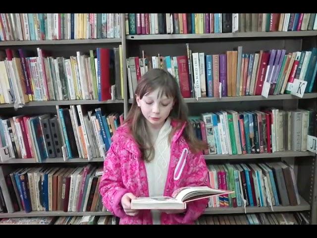 Изображение предпросмотра прочтения – КаринаИзраилева читает произведение «Лунь» (Русский фольклор )