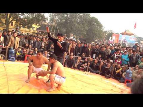 Hội vật truyền thống chùa hội Lim Bắc Ninh 13/1/2016 âm lịch