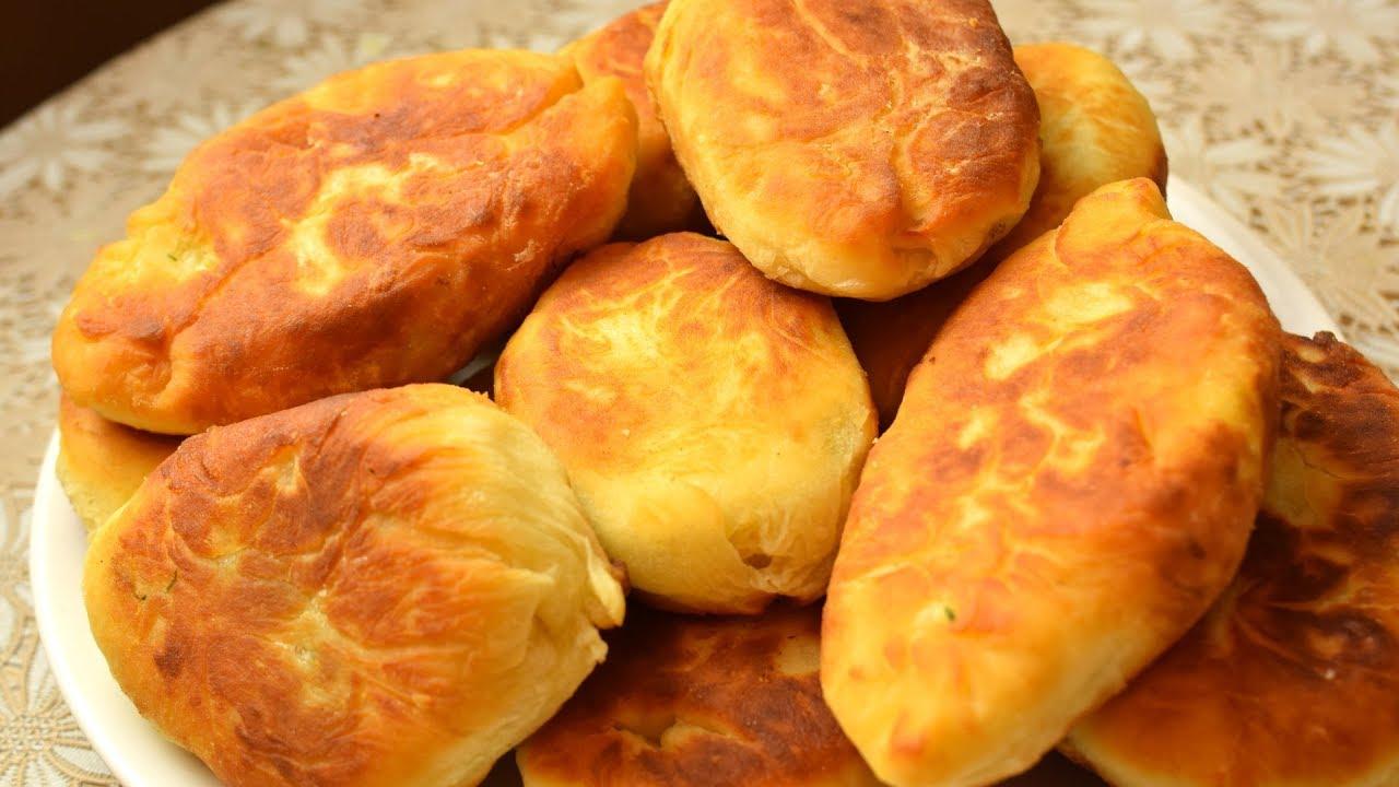 Пирожки с картошкой. Необычное и очень быстрое тесто!  Мамины рецепты