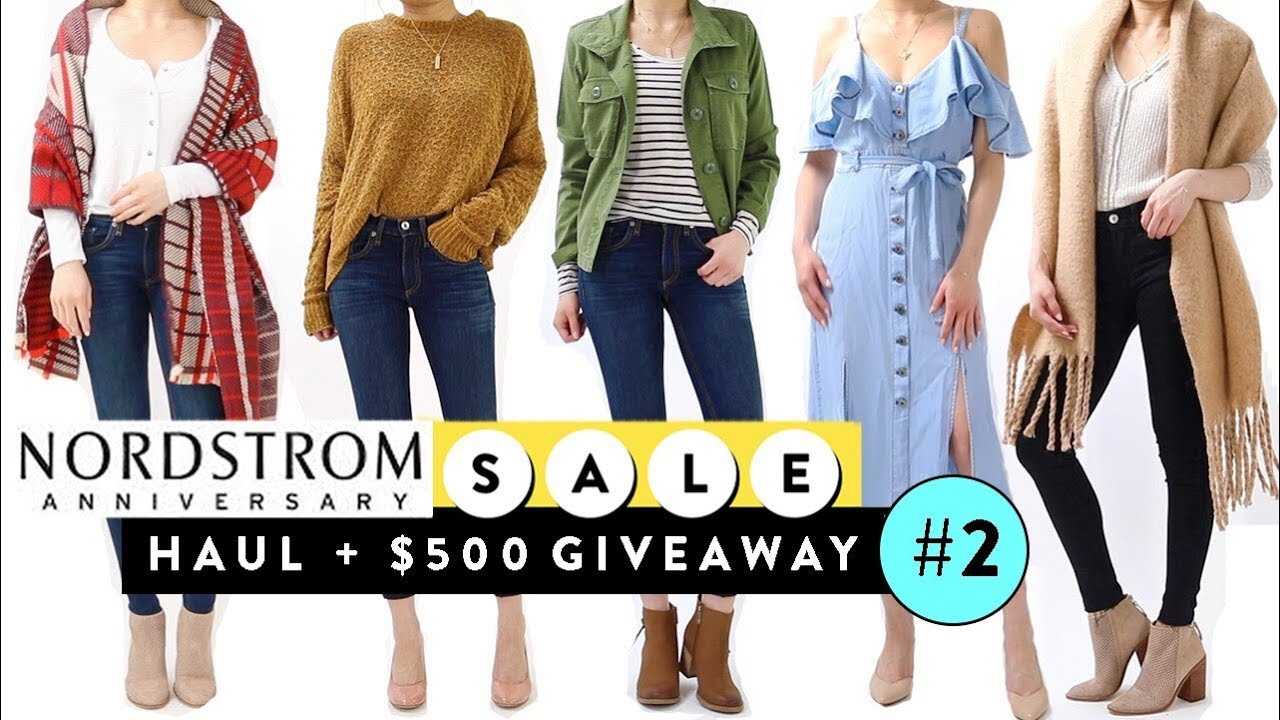 c5ef11b4529 Nordstrom Anniversary Sale 2018 Try On Clothing HAUL Pt.2 + Giveaway ...