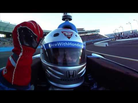 FSIS Winner Roger Brint Leads at the Phoenix International Raceway