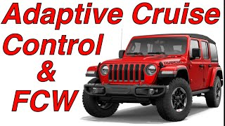 Testing Adaptive Cruise Control & Forward Collision Warning , Jeep Wrangler Jeep Gladiator