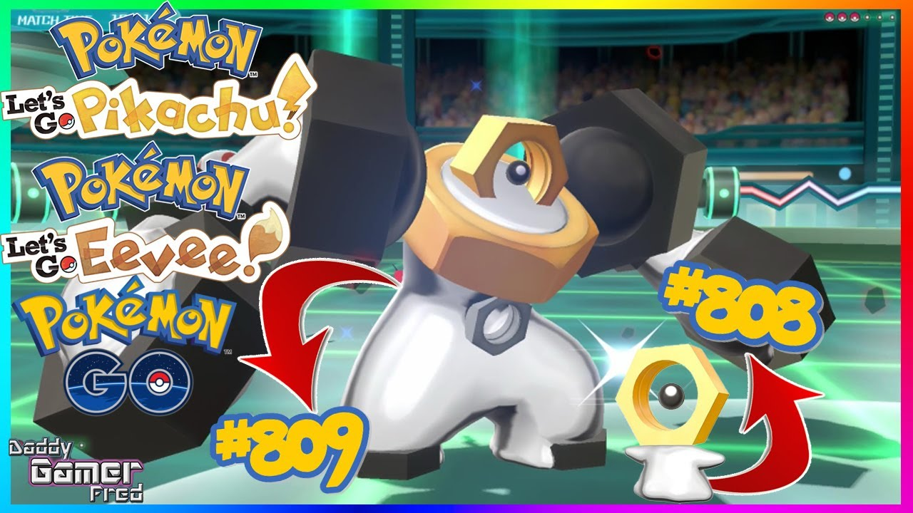 National Pokédex Numbers For Meltan #808 And Melmetal #809 Have Been Found  In Pokémon GO