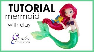 Baixar [ENG] DIY Ariel in polymer clay - Tutorial Little Mermaid with fimo