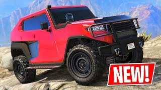 New 4x4 Off-Road Truck!! Freecrawler Tank Spending Spree! (GTA 5 Online New Update)