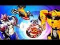 Видео игры Трансформеры – БэйБлэйд или Дикие Скричеры? – Игрушки для мальчиков.
