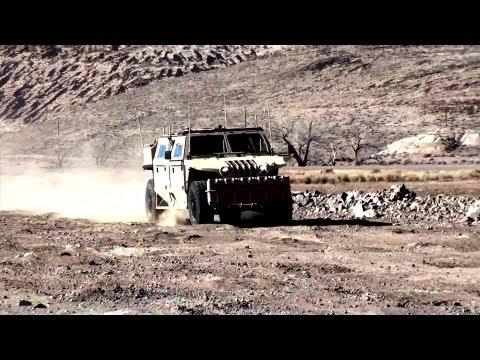 Northrop Grumman  - Medium Assault Vehicle - Light (MAV-L) Nevada Field Testing [1080p]