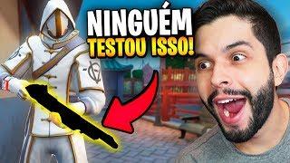 MUITO FORTE?!? FUI O PRIMEIRO A USAR A NOVA ARMA (12 COM MIRA 2x) NO JOGO!!!