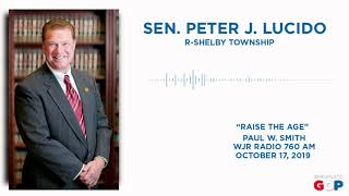 Sen. Lucido discusses Raise the Age with Paul W. Smith on WJR