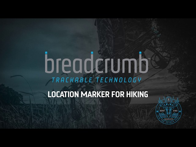 Breadcrumb Bluetooth Location Marker: Perfect For Hiking