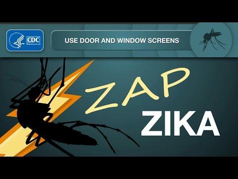 Zap Zika: Use Door and Window Screens