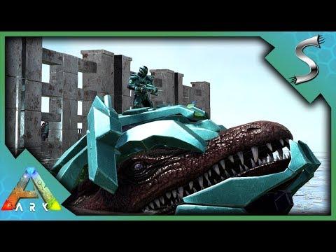 TEK MOSA ARMOR! HUNTING KRAKEN FOR BLACK PEARLS! - Ark: Survival Evolved [S3E93]