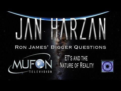 MUFON Director Jan Harzan on ET, reality and our future with Ron James on Bigger Questions