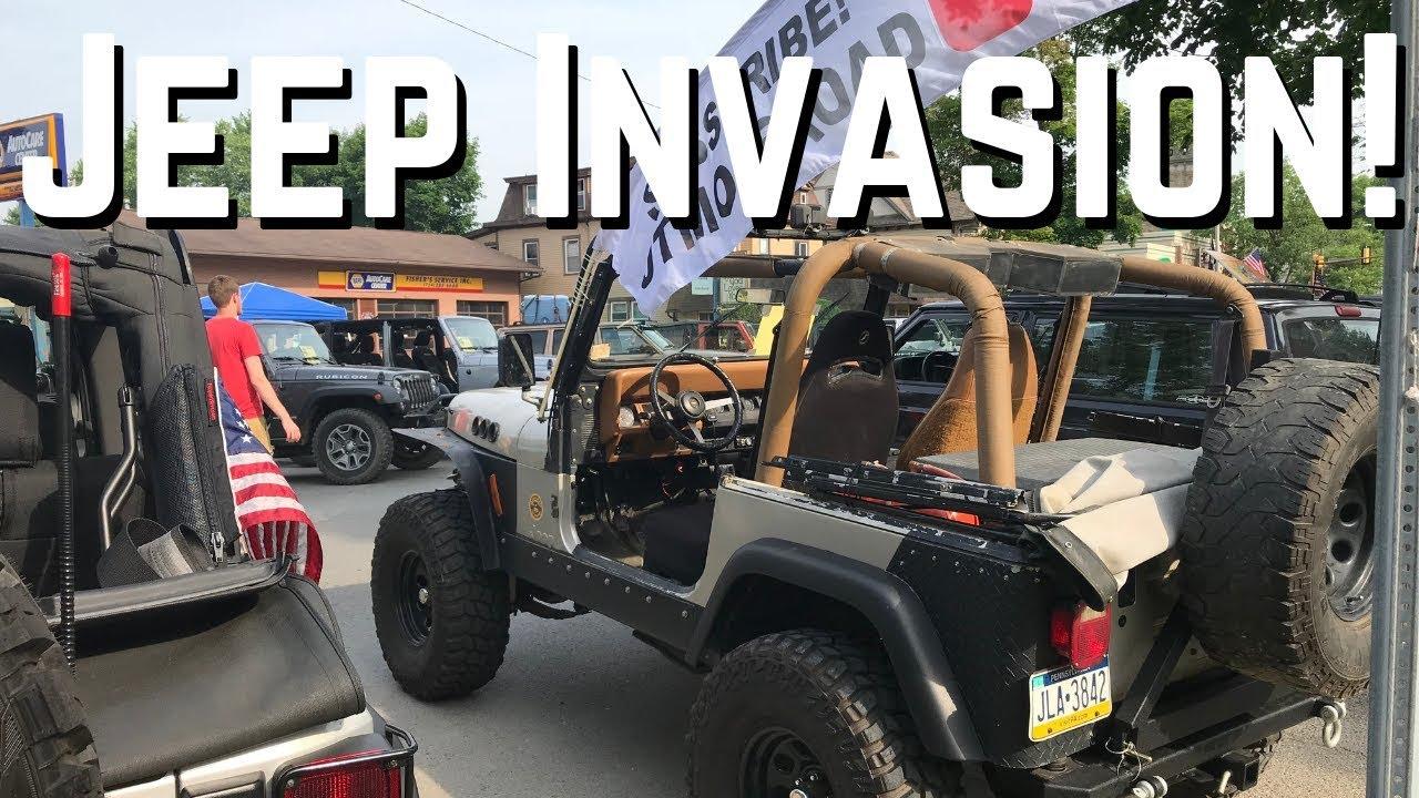 Butler Bantam Jeep Invasion Youtube