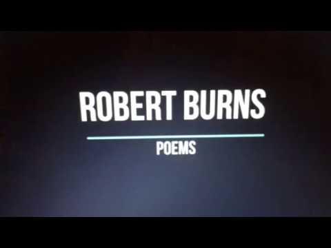 Robert Burns Poetry Project