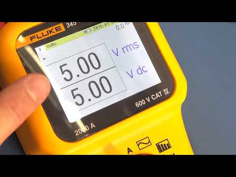 Fluke 345 Power Clamp Meter Review - Pt 2