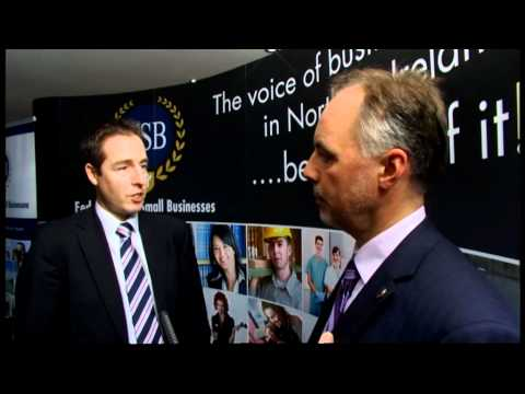 Paul Givan MLA visits the FSB Conference Stand