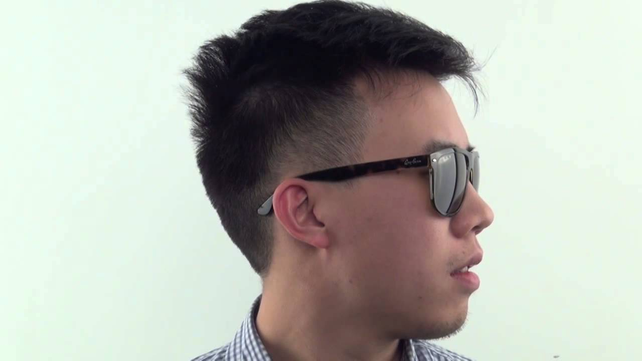 35539c7268f Ray-Ban RB4147 Highstreet Polarized 710 57 Sunglasses - VisionDirect  Reviews - YouTube