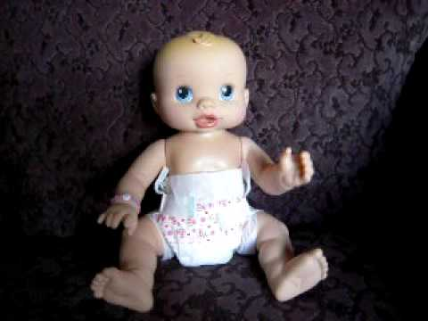 2006 Hasbro Baby Alive Quot Wets N Wiggles Quot Doll Youtube