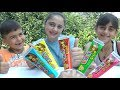 Kids Learn Toy Box Cream Colors and Sing Finger Family Songs