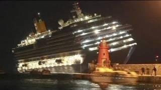 Naufrage d'un navire de croisière en Italie