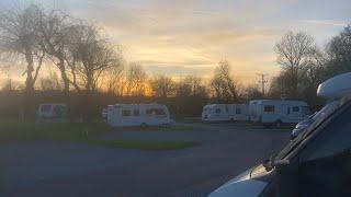 Big Winter Road Trip Part 9 still continues arriving at CADESIDE Camc site