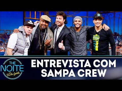 Entrevista com Sampa Crew   The Noite (24/07/18)