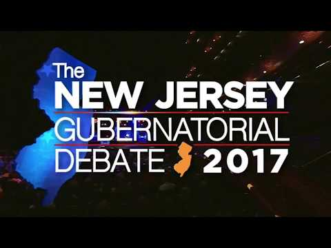 New Jersey Gubernatorial Debate 2017 (Full video)