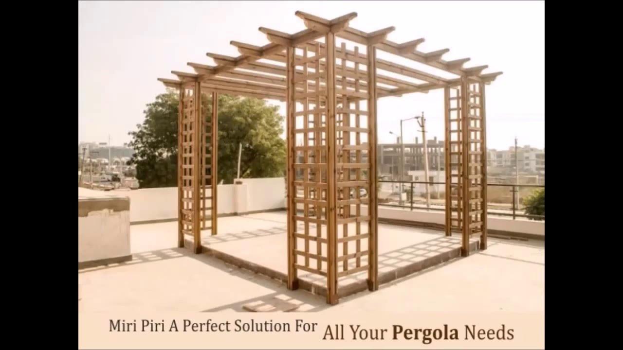 Specialize In Wooden Pergolas, Metal Pergola, Timber Pergolas, Wooden Pergolas  Designs By Miri Piri - YouTube - Specialize In Wooden Pergolas, Metal Pergola, Timber Pergolas